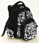 Simple Dimple Diaper Back Pack & Food Bag – Neo Classic (Black)