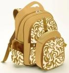 Simple Dimple Diaper Back Pack & Food Bag – Neo Classic (Khaki)